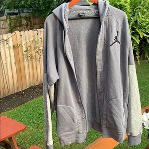 Jordan Gray  long sleeve zip up hoodie